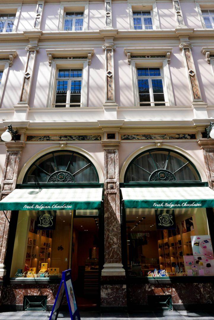 Leonidas Brussels Galeries Royales St Hubert