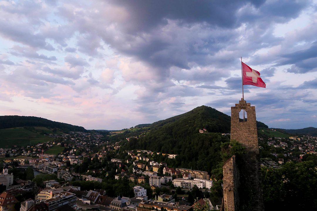 Baden Switzerland Mountains