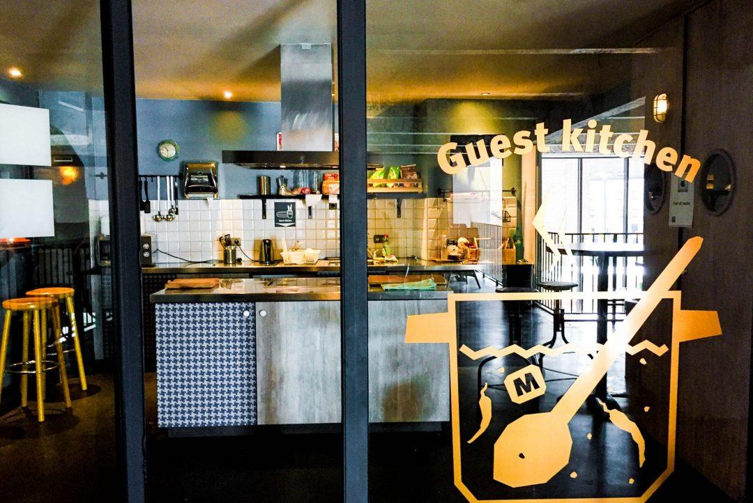 MEININGER Brussels guest kitchen