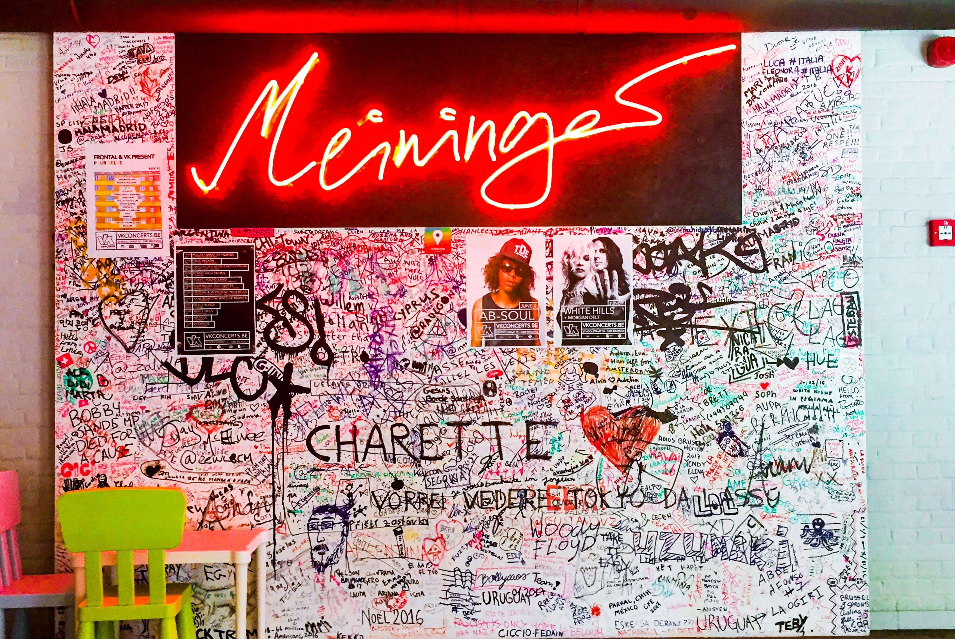 MEININGER Brussels art wall