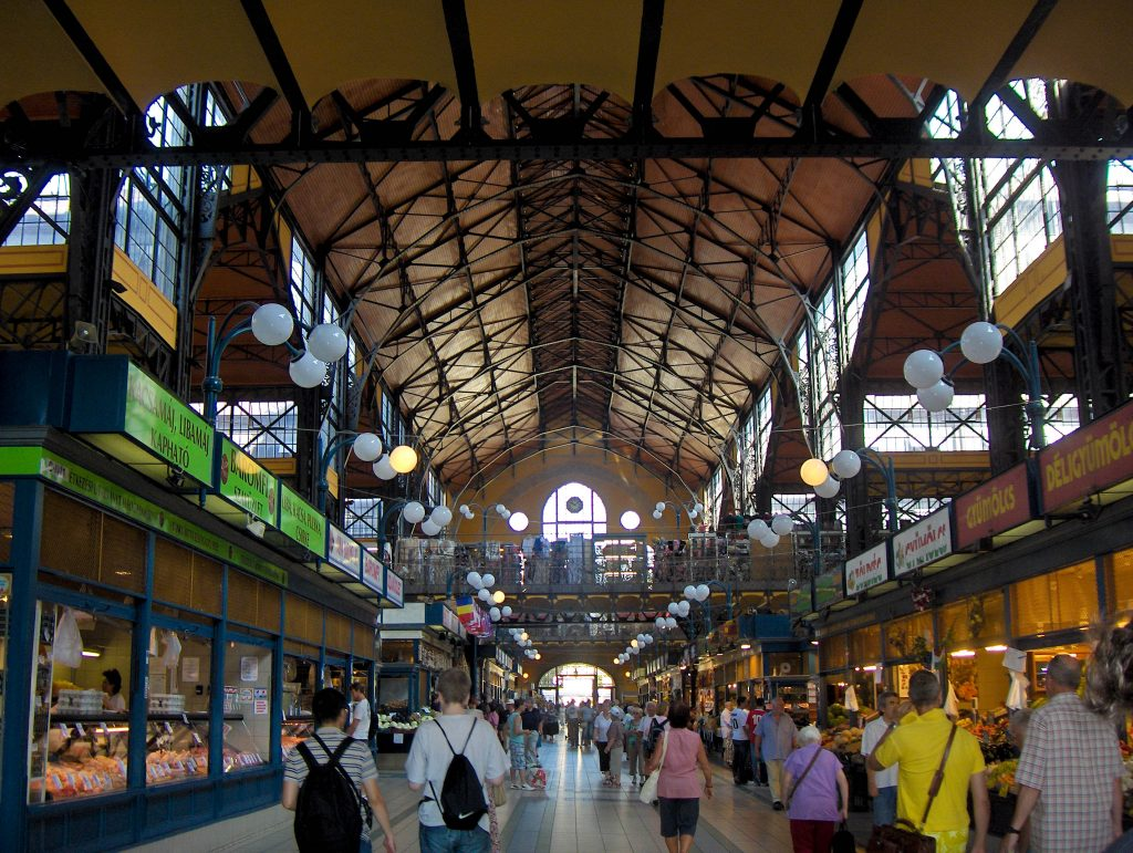 Budapest Great Market Hall Hungary Best Food Markets in Europe