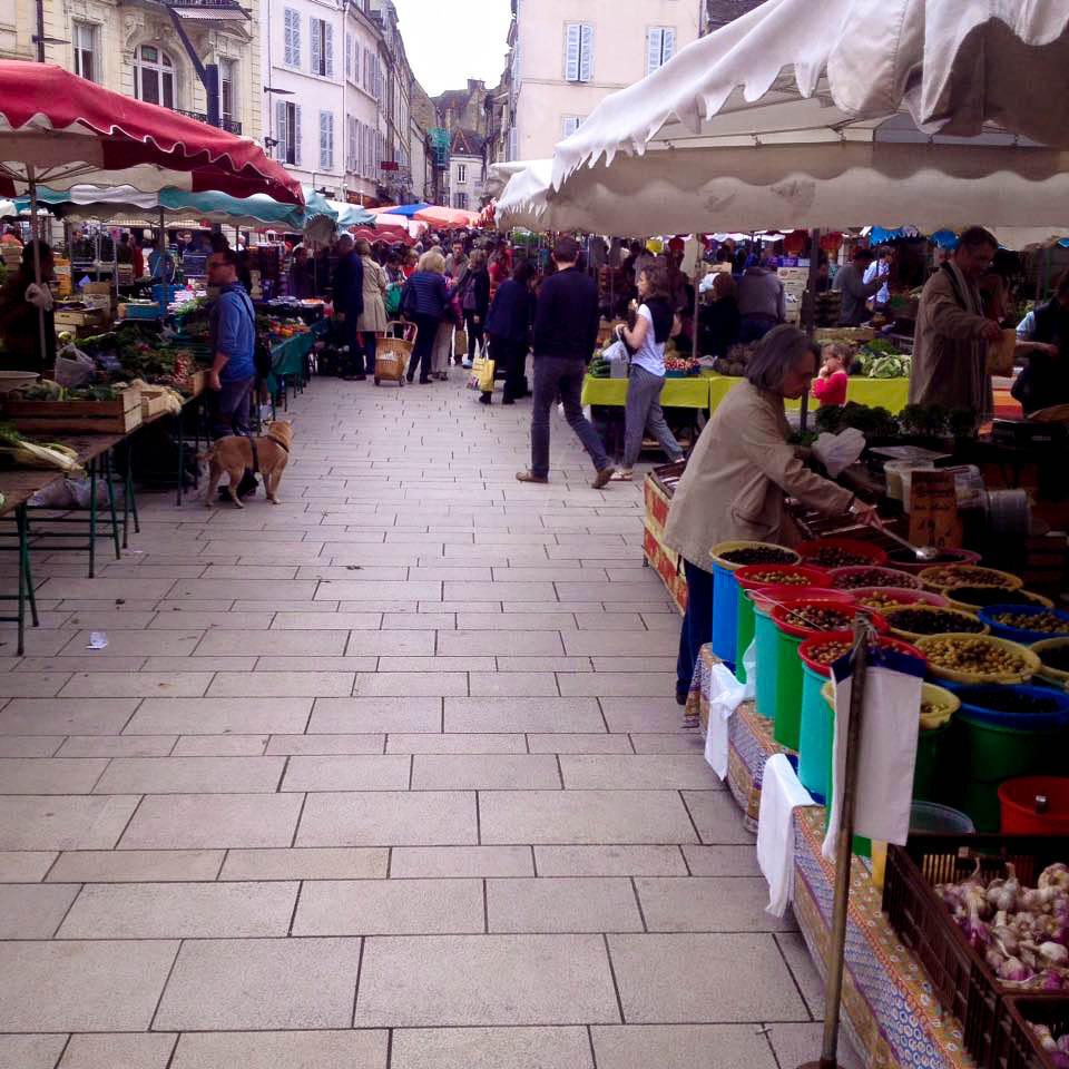Les Halles Market Dijon France Best Food Markets in Europe