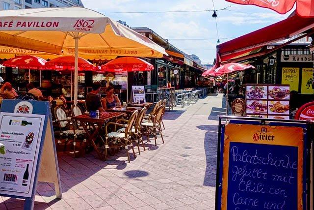 Naschmarkt Vienna Austria Best Food Markets in Europe