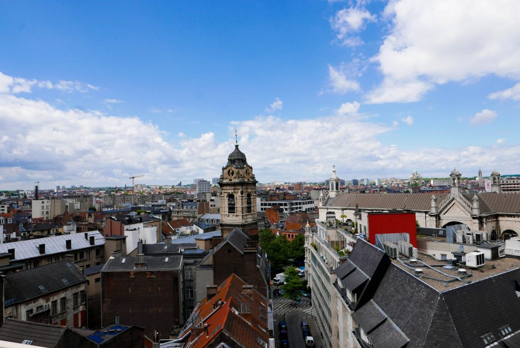 Brussels Parking 58 View Belgium on a Budget