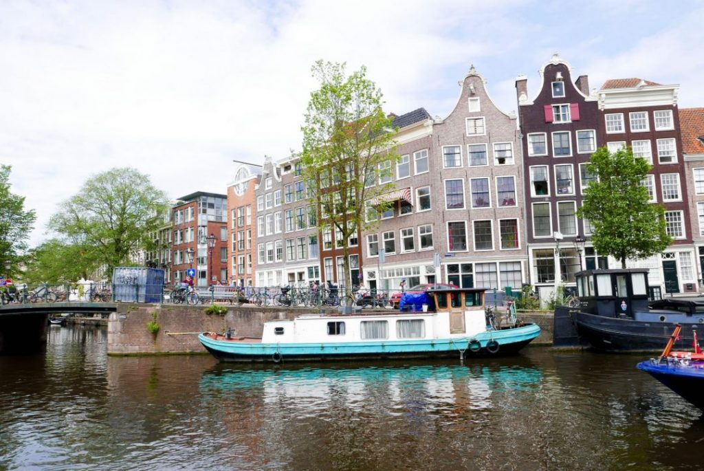 Amsterdam Canal House Boat
