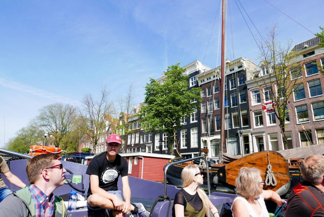 Those Dam Boat Guys Amsterdam Canal Tour