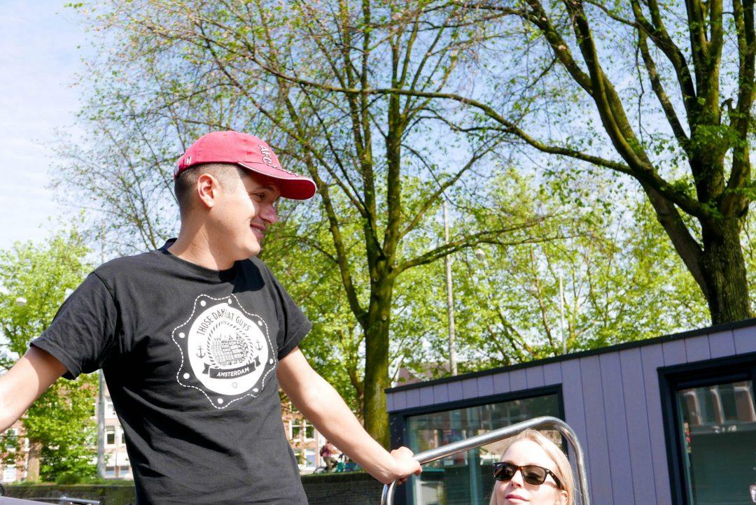 Those Dam Boat Guys Amsterdam Canal Tour Guide Julian