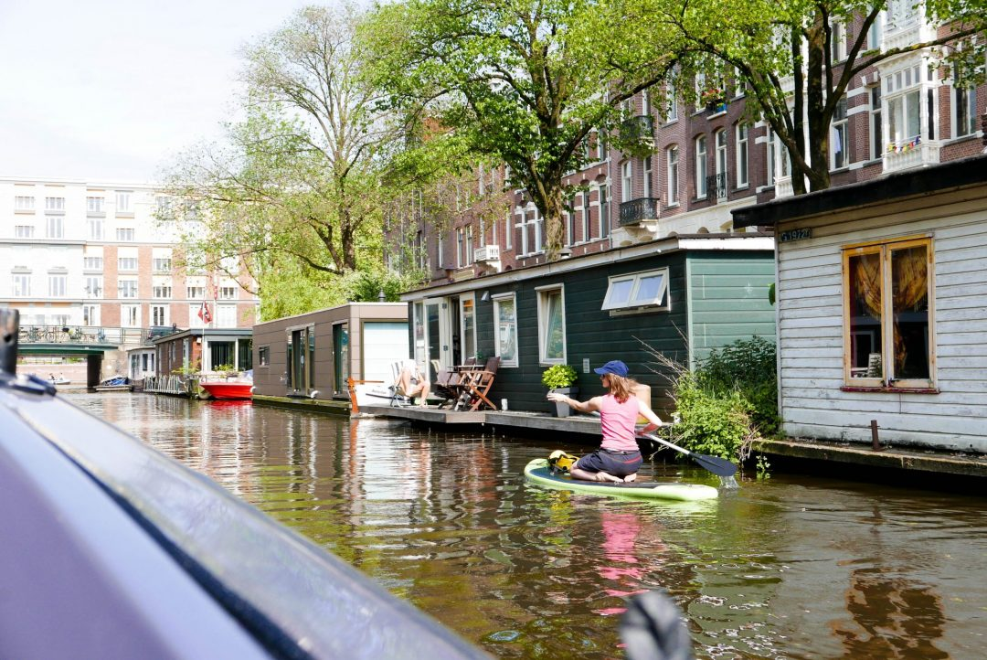 SUP Amsterdam Canal