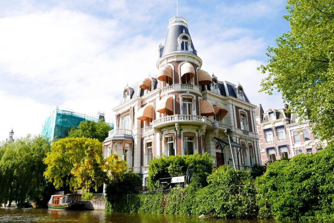 Amsterdam house awnings