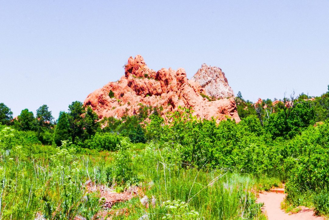 Scotsman Buckskin Charlie Trail Garden of the Gods Colorado Springs