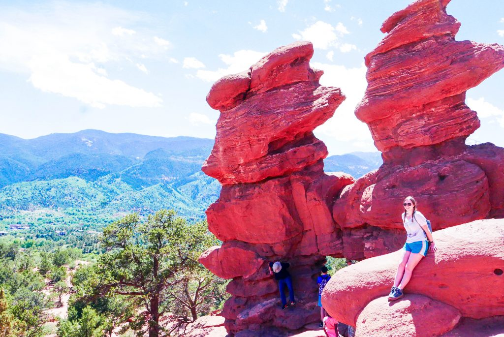 Addie Siamese Twins Garden of the Gods Colorado Springs