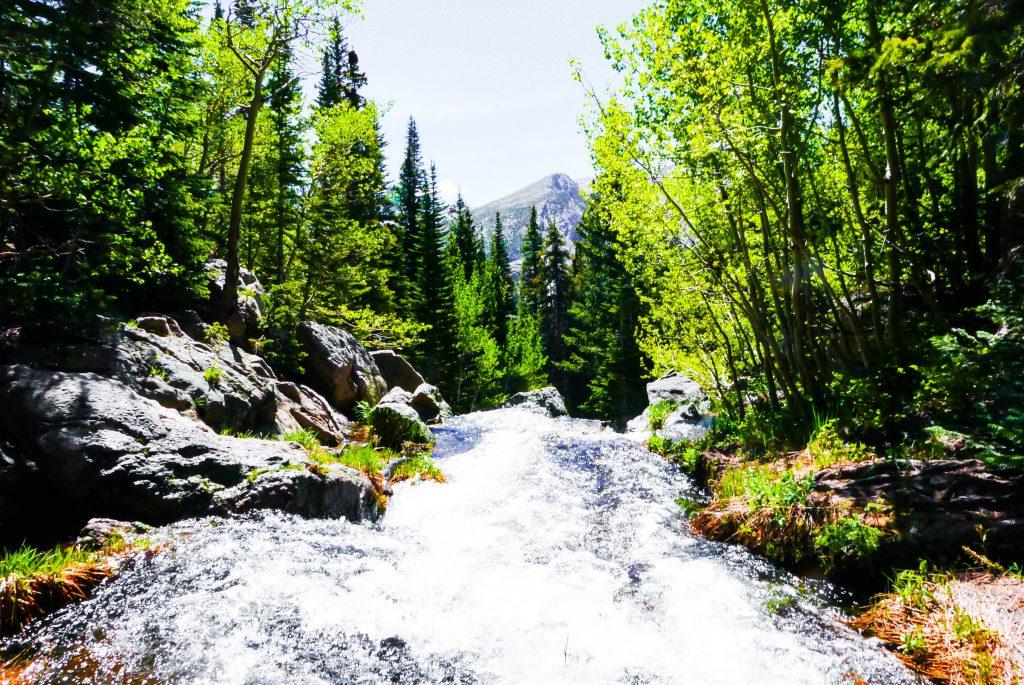 River Rocky Mountain National Park