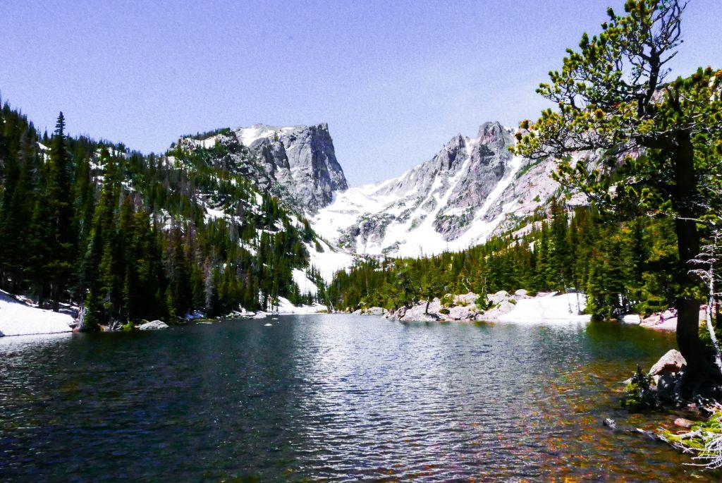 Dream Lake Rocky Mountain National Park