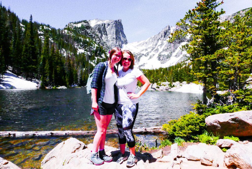 Addie Madison Dream Lake Addie Rocky Mountain National Park