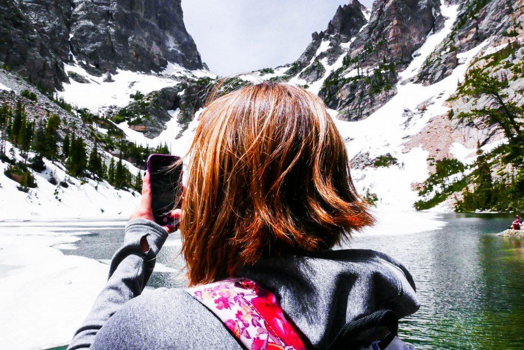 Madison iPhone Mountain Emerald Lake Rocky Mountain National Park