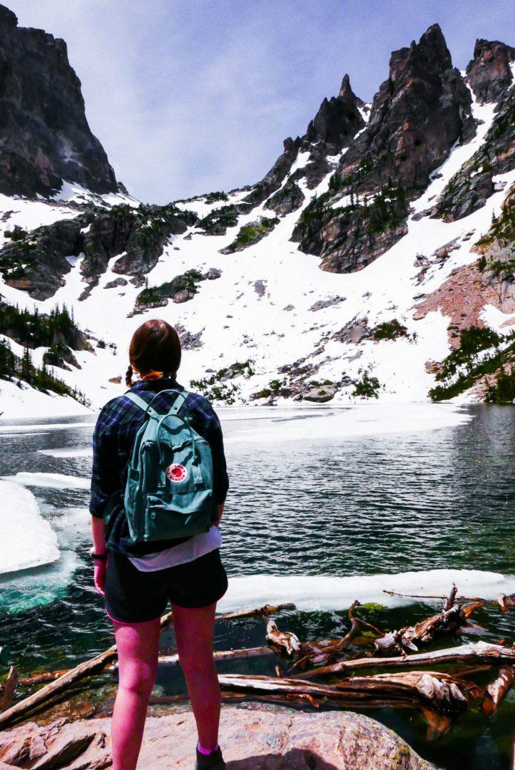 Addie Mountain Emerald Lake Rocky Mountain National Park