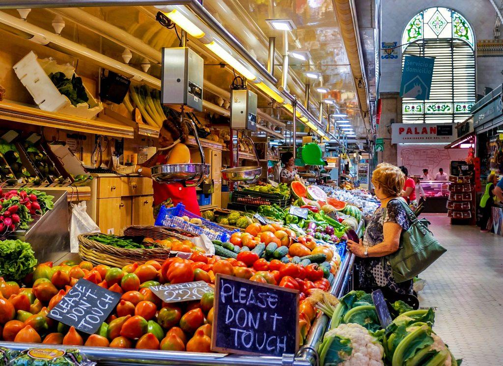 Valencia Central Market Spain Best Food Markets in Europe
