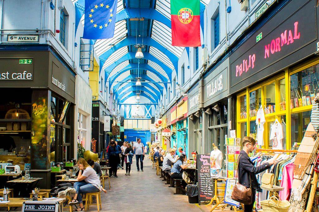 Brixton Village Food Market London England United Kingdom UK Best Food Markets in Europe