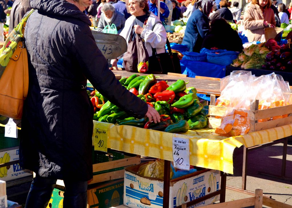 Dolac Market Zagreb Croatia Best Food Markets in Europe