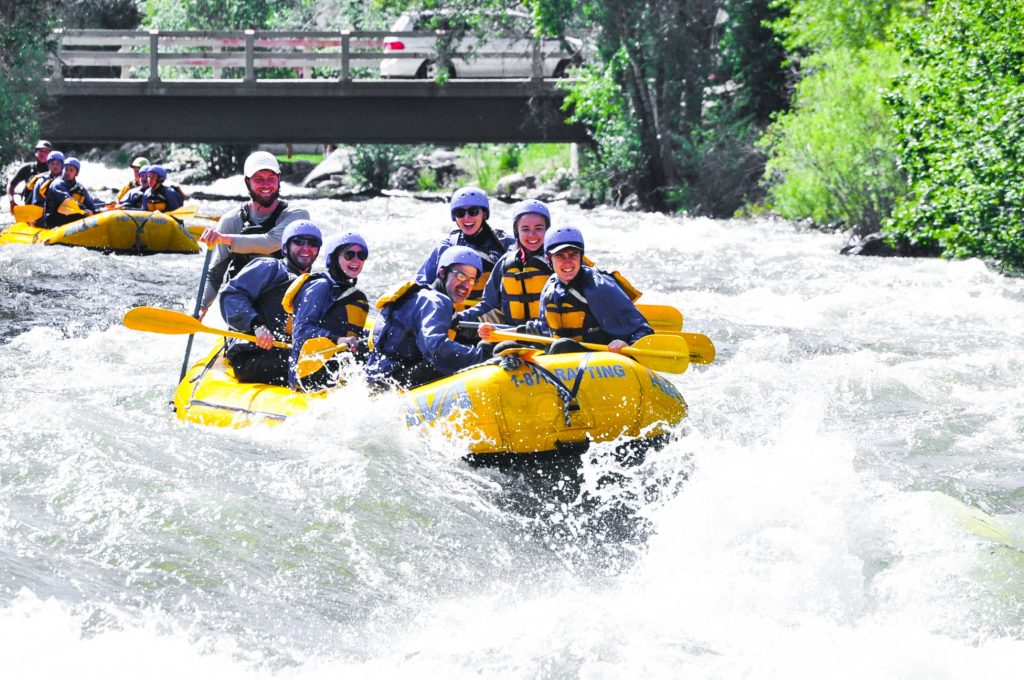 AVA Whitewater Rafting Idaho Springs Colorado
