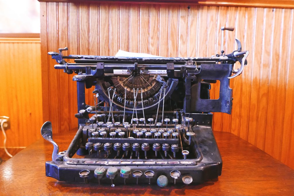 Jack The Shining Typewriter Stanley Hotel