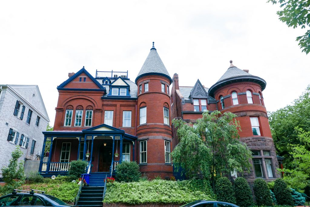 Georgetown House Turrets
