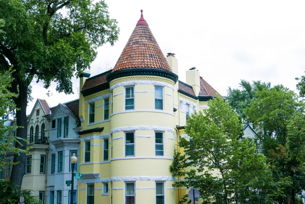 Georgetown Yellow House