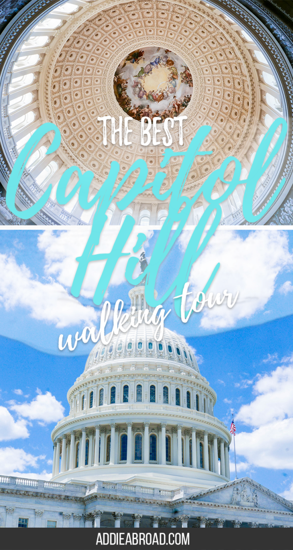 Want to know which Capitol Hill walking tour to take while you're in Washington DC? Look no further! This tour by DC Free Tours by Foot will give you a fantastic overview of Capitol Hill, including the Capitol Building, the Supreme Court, and the Library of Congress! | What to do in Washington DC | Free Walking Tour Washington DC | Capitol Building Tickets