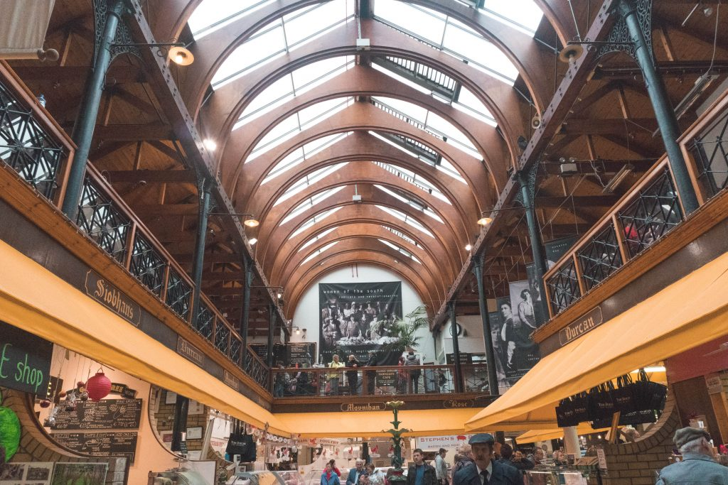 English Market Entryway Cork City Ireland