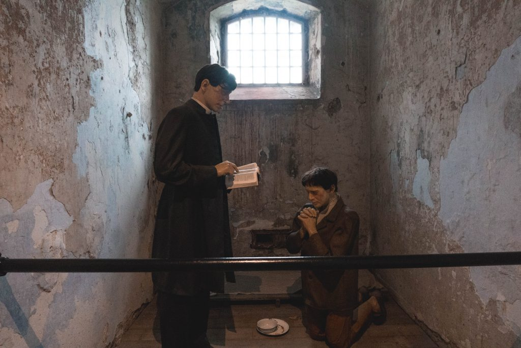 Mannequins at the Cork City Gaol in Ireland