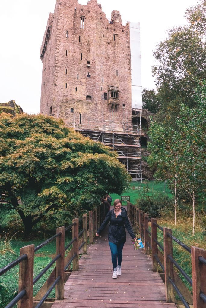 Addie on Blarney Castle Bridge