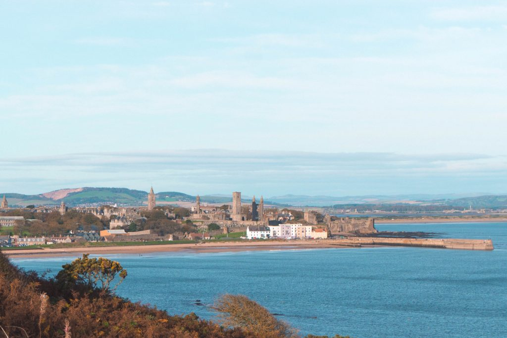 Fife Coastal Path St Andrews Scotland