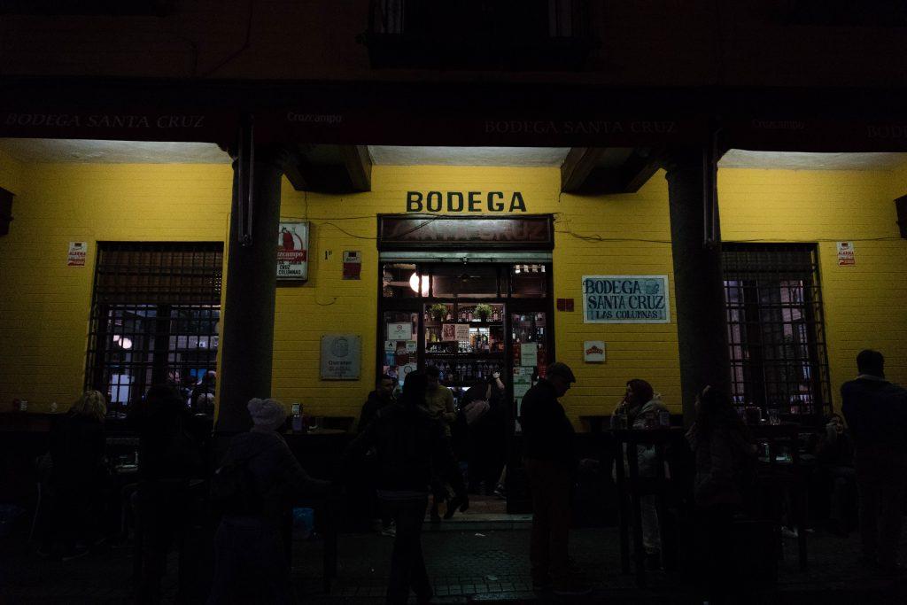 Bodega Santa Cruz Sevilla Spain