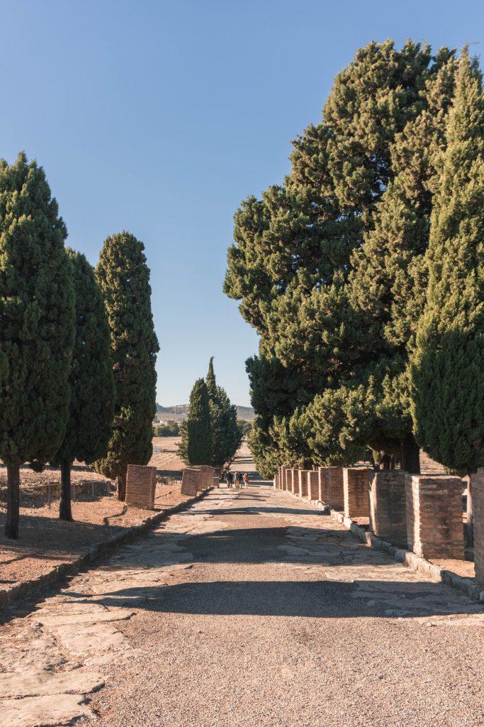 Road Italica Seville