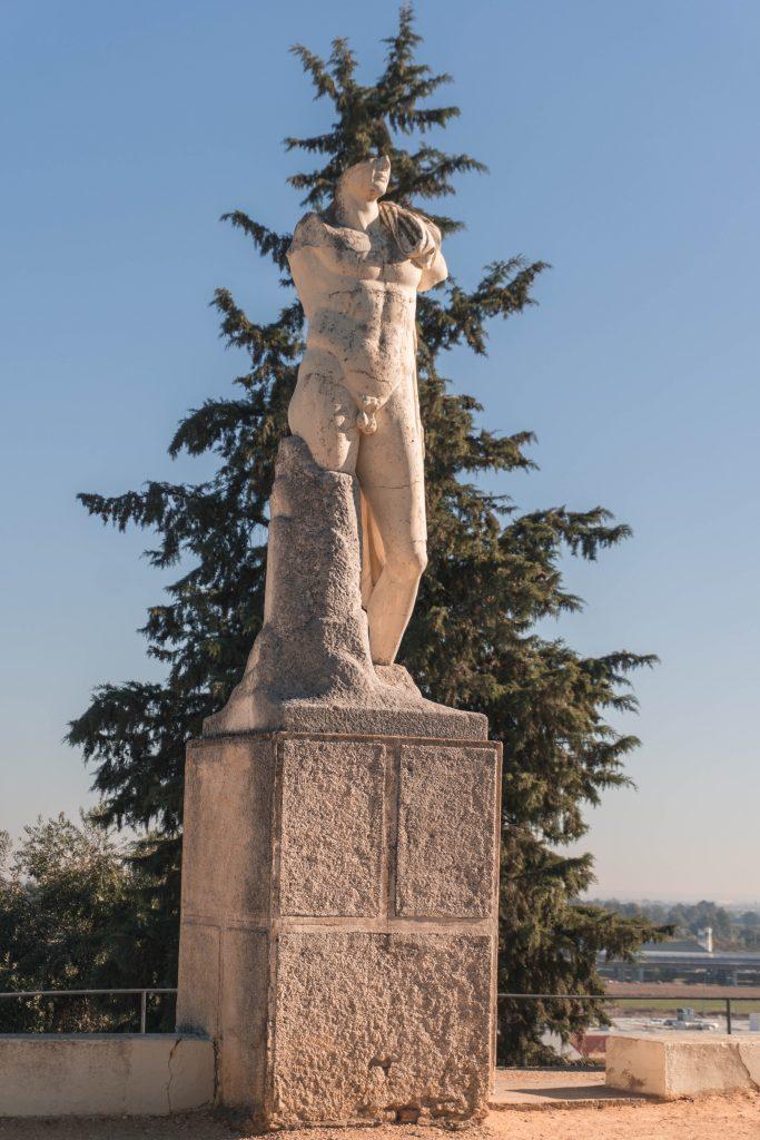 Trajan Statue Italica Seville