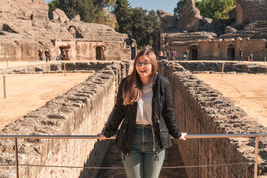 Addie Italica Amphitheater Game of Thrones Seville Day Trip