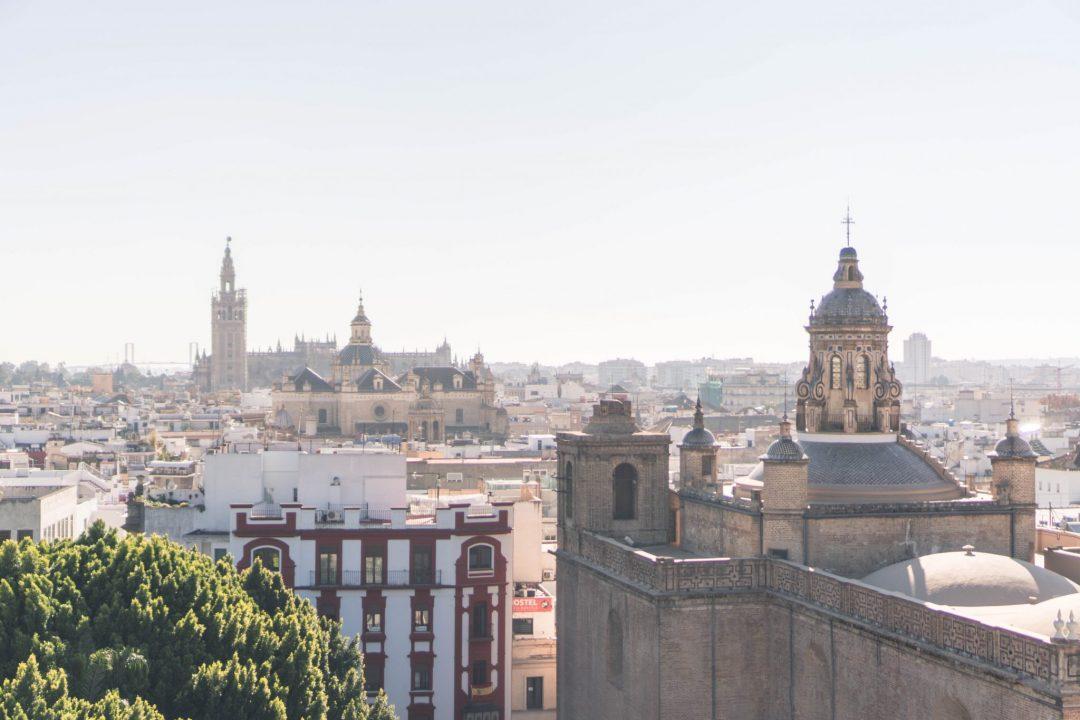 Metropol Parasol View Sevilla