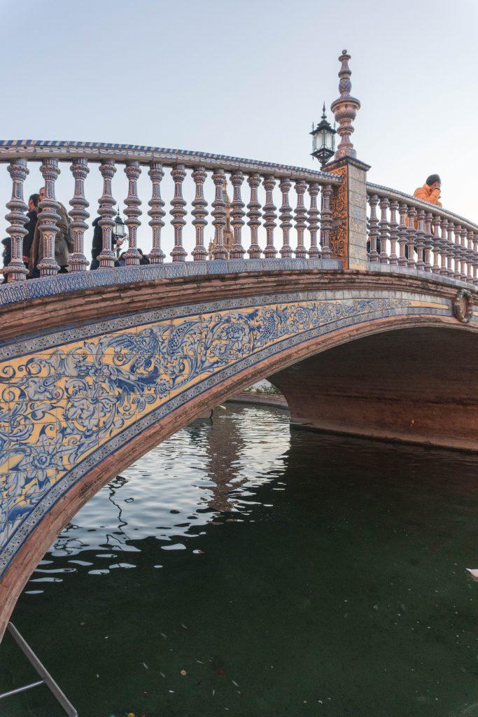 Bridge Sunset Plaza de Espana Sevilla