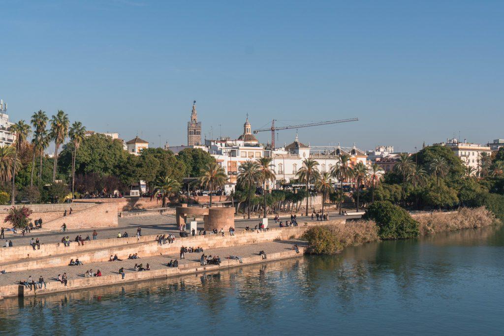 Paseo Alcalde Marqués del Contadero Sevilla