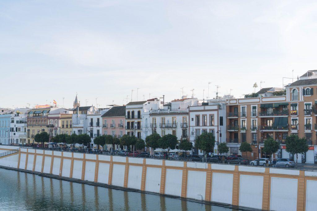 Triana Guadalquivir River Seville