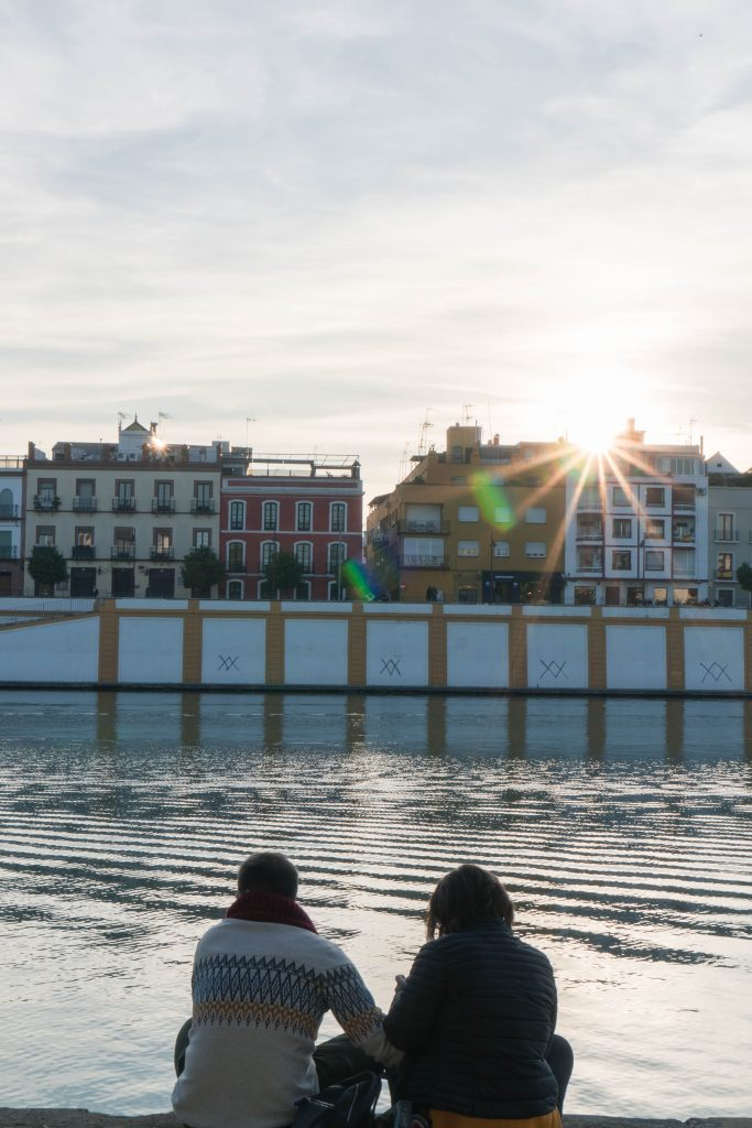 Sunset Paseo Alcalde Marqués del Contadero Sevilla
