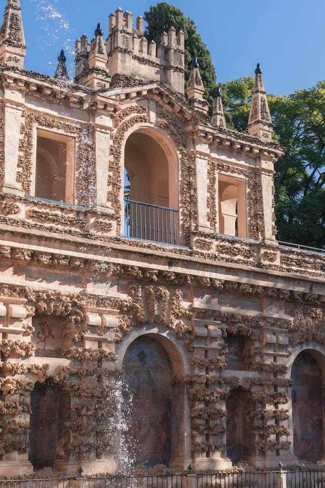 Grotesque Gallery Real Alcazar Seville Spain 2