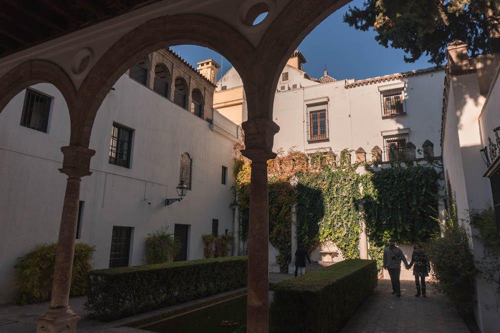Patio #1 Real Alcazar Seville Spain