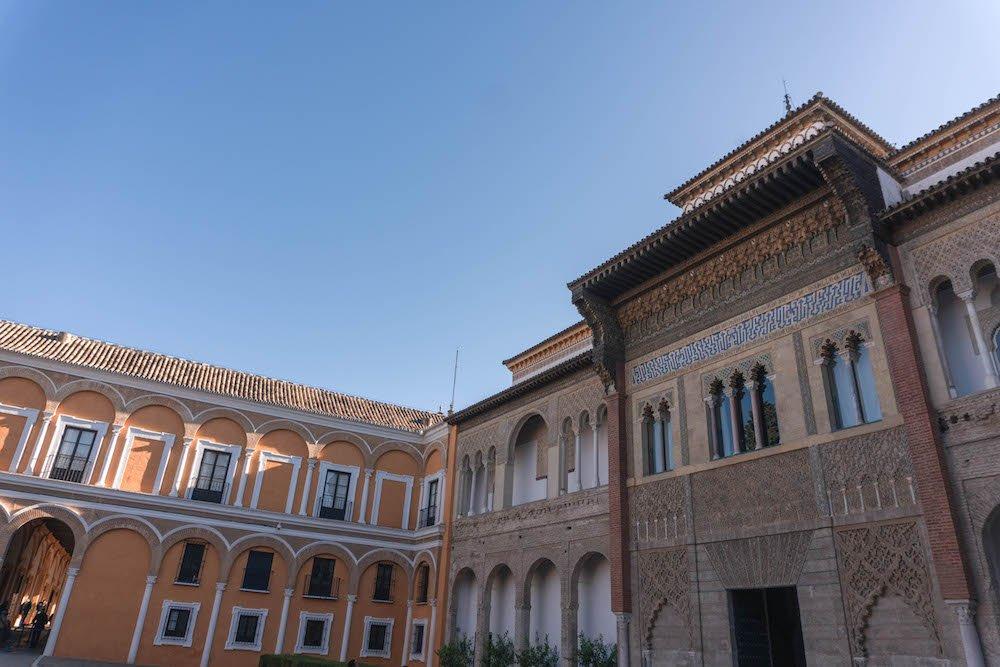 Patio de la Monteria Real Alcazar Seville Spain