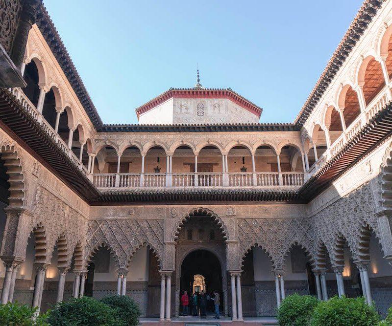 Patio de las Doncellas Real Alcazar Seville Spain