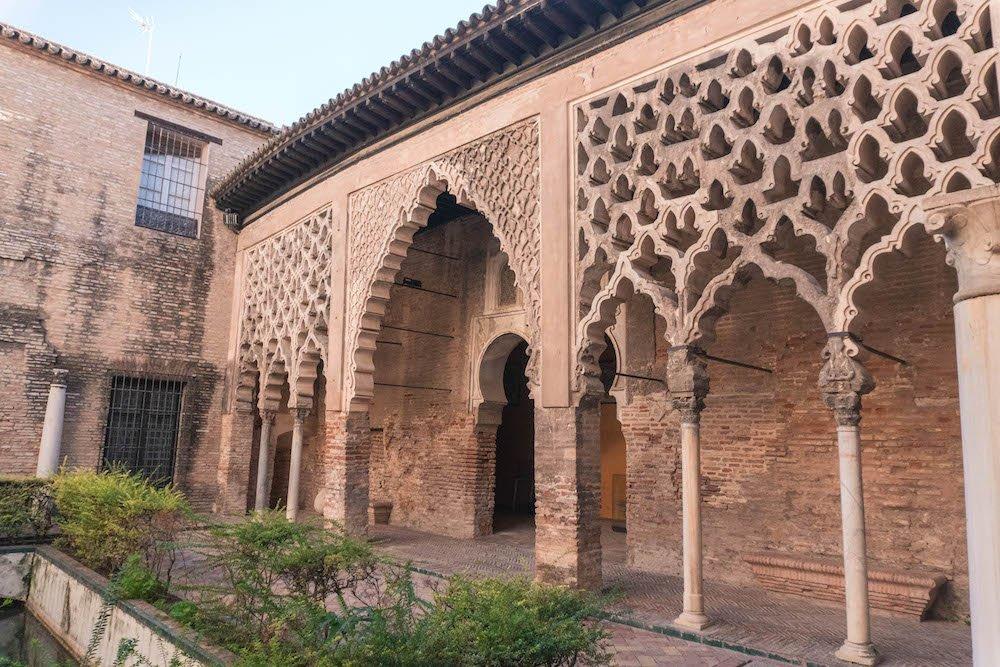 Patio del Yeso Real Alcazar Seville Spain