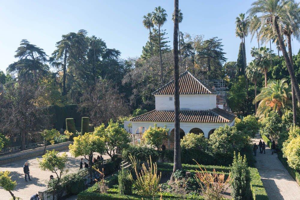Pavillion of Carlos V Real Alcazar Seville Spain