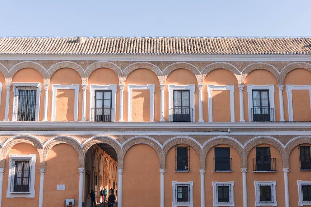 Plaza de la Monteria Real Alcazar Seville Spain