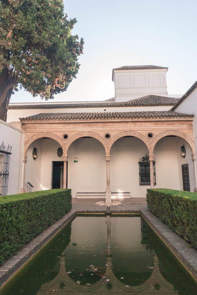 Prince's Garden Real Alcazar Seville