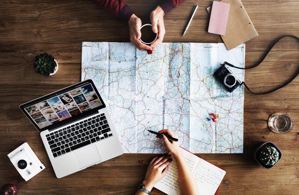 Rawpixel com Map Planning